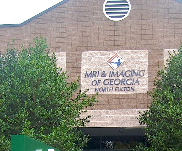 Front building sign