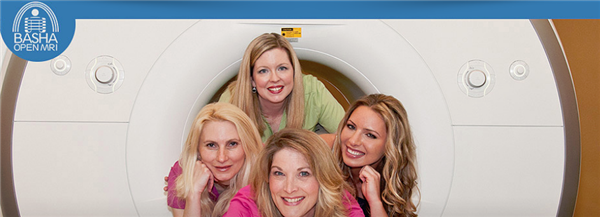 Our MRI machine can hold up to 550 pounds